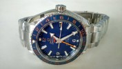 OMEGA SEAMASTER GMT BLUE DIAL